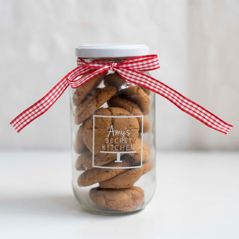 Chocolate Peanut Butter Cookie Jar