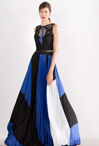 PLEATED ATELIER DRESS