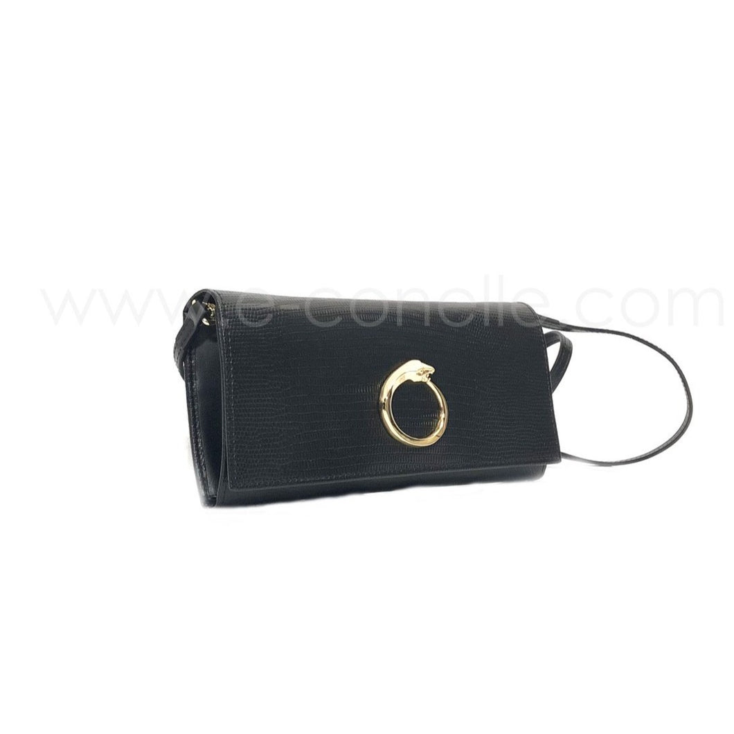WALLET-CLUTCH WITH CIRCULAR LOGO