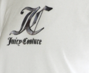 LOOSE BLOUSE JC SILVER LOGO - WHITE