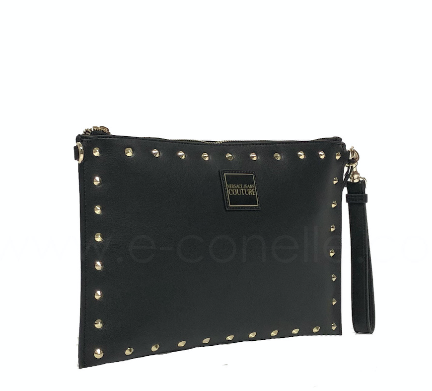 ENVELOPE WITH STUDS - GOLD STUDS