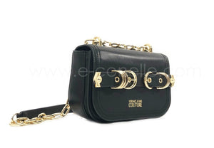 CROSSBODY REAL LEATHER RINGED SHOULDER BAG