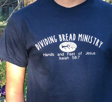 Load image into Gallery viewer, Dividing Bread Ministry T-Shirts-Show your support!