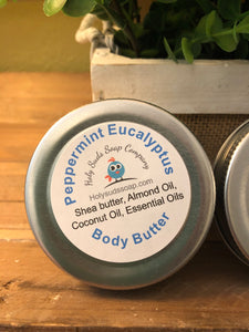 Peppermint Eucalyptus Whipped Body Butter