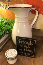Load image into Gallery viewer, Vintage Ceramic Pitcher, Friends Sign + Shea Whipped Body Butter