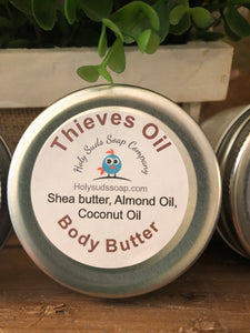 Thieves Oil Whipped Body Butter