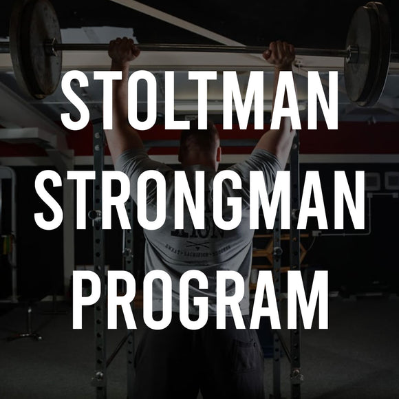STOLTMAN STRONGMAN PROGRAM DIGITAL COPY - Stoltman Brothers