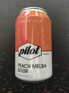 Twelve Tins Of Pilot Peach Melba 33cl