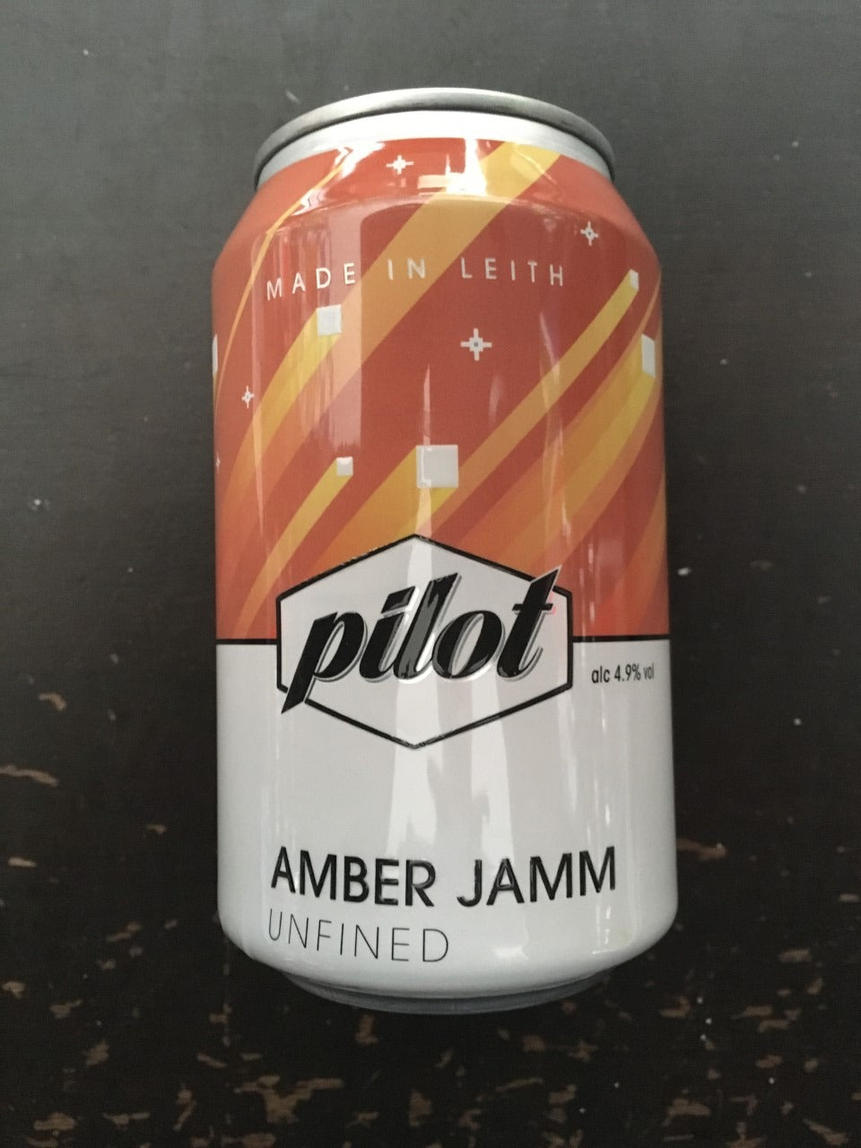Six Tins of Amber Jamm 33cl