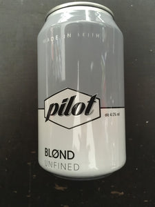 Six Tins of Pilot Blond 33cl