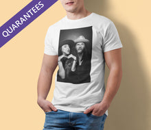 Load image into Gallery viewer, Demi Marriner and Robbie Cavanagh - Men's Fitted Short Sleeve Tee
