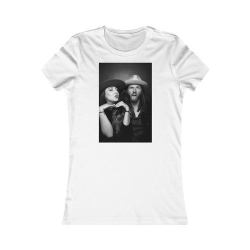 Demi Marriner and Robbie Cavanagh - Women's Favourite Tee - Independent Muso