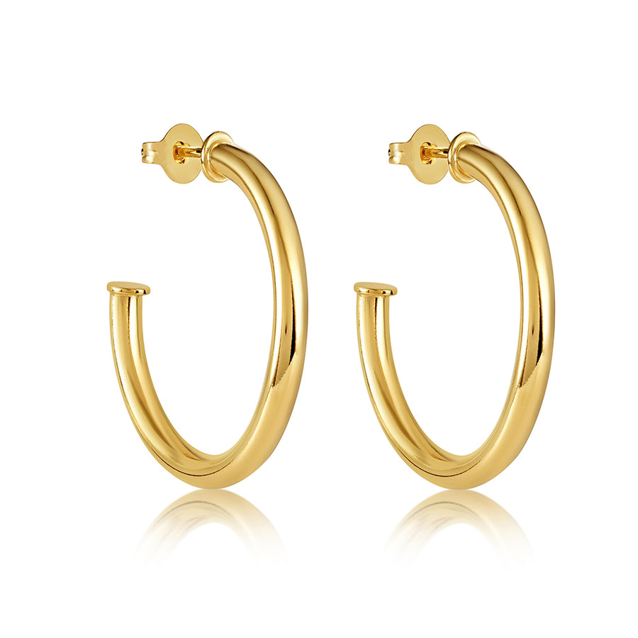 CECILIA HOOP EARRING 40MM