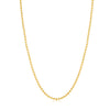 THREE TONE TRIO NECKLACE