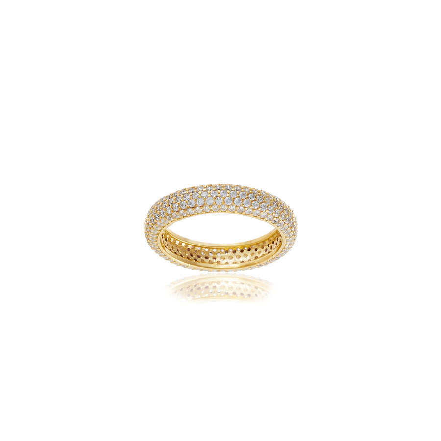 4MM PAVE RING
