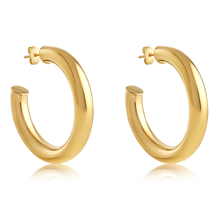 BRENNA HOOP EARRING 25MM