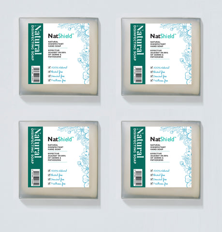 NatShield®  Mini Travel Soap 4 Pack (4812947161223)