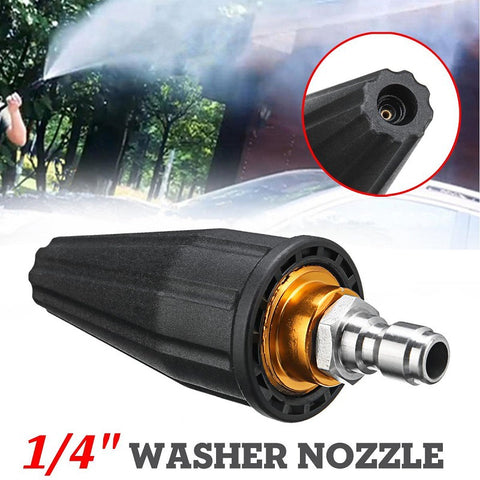 Turbo Nozzle with 5 Spray Nozzle Tips Kit