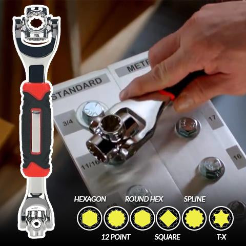 All-Around Compact Wrench
