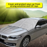 Multi-functional Windshield Cover