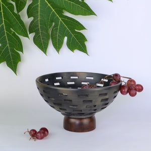 Fruteira Line Terra Bowl - Opaque Studio Fruit Bowl