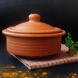 Terracotta Curd Setter and Serveware