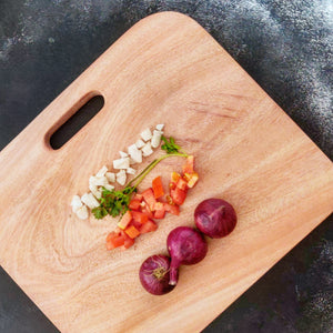 Rectangle Small Neem Wood Cutting Board - Opaque Studio Cuttingboard