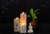 Mesa Wooden Candle Holder - Opaque Studio Candle Stand