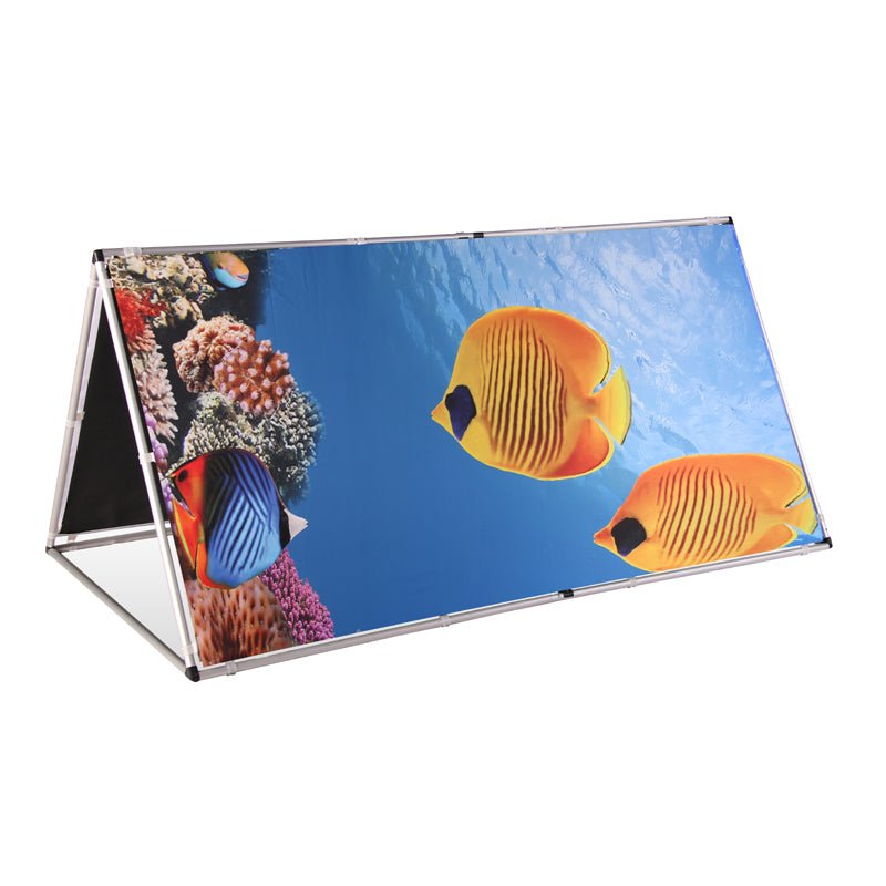 A-Frame Banner with PVC