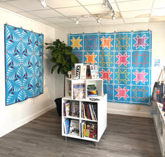 gallery view of two Kona Horizon quilts