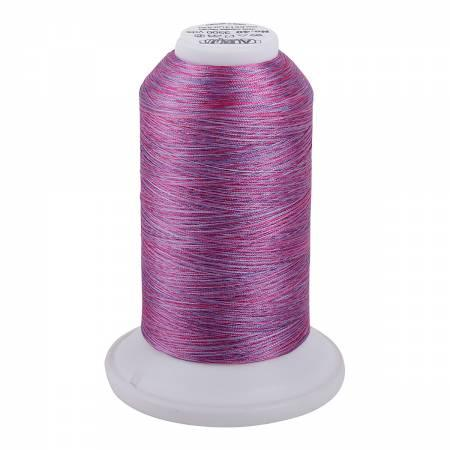 Aurifil Longarm Polyester 40wt Variegated Thread Color 5513 French Lilac 3280yds