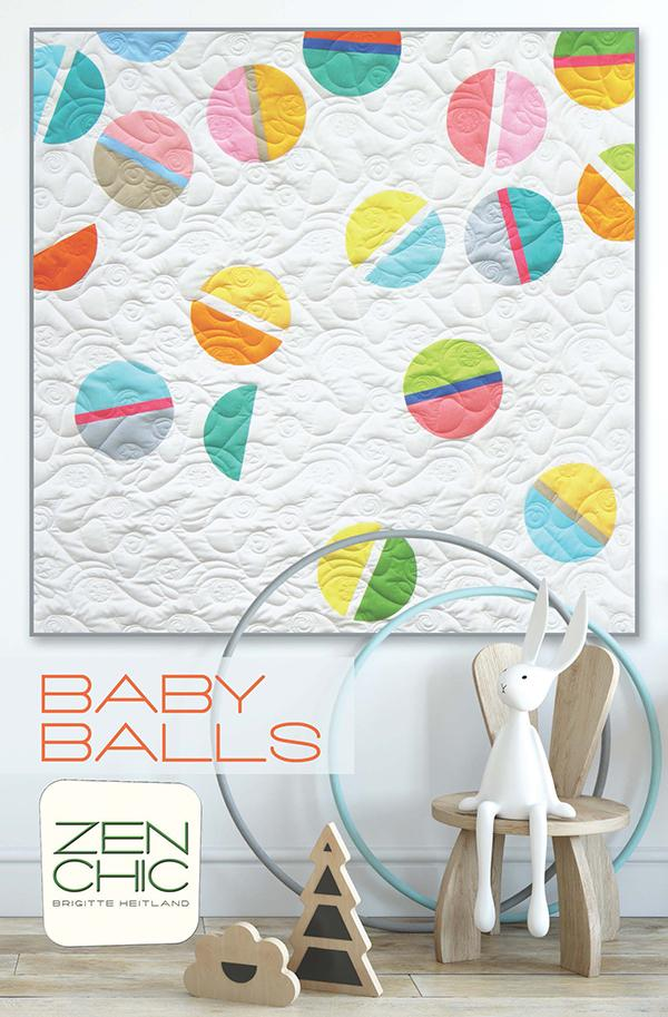 Baby Balls by Brigitte Heitland for Zen Chic