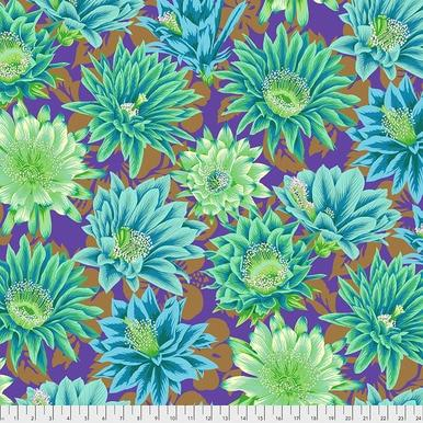 Cactus Flower - Emerald Philip Jacobs for the Kaffe Fassett Collective