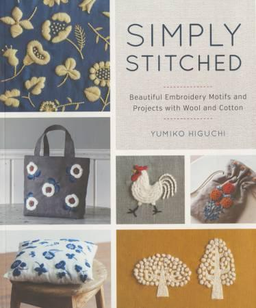 Simply Stitched - Beautiful Embroidery Motifs and Projects with Wool and Cotton