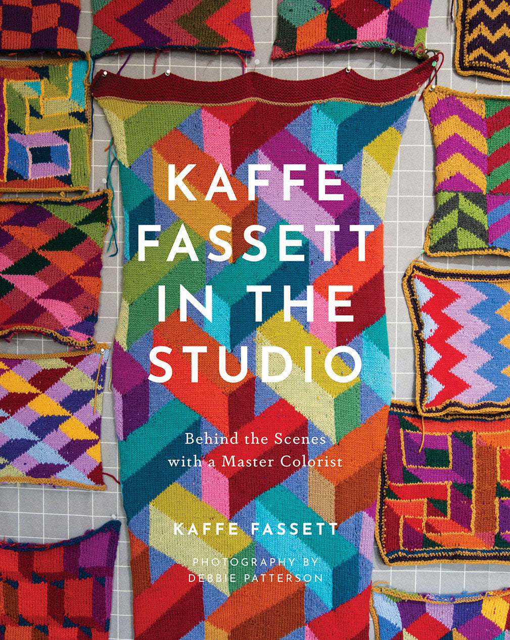 Kaffe Fassett in the Studio: Behind the Scenes with a Master Colorist, Signed by Kaffe