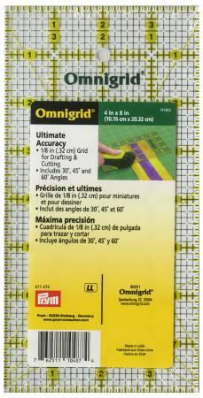 "Omnigrid 4"" x 8"" All-Over Ruler"