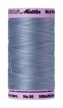 Silk-Finish 50wt Cotton Thread Color 0350 Summer Sky 500m/547yds