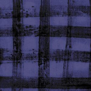 The Blue One - Plaid by Marcia Derse in Blueberry