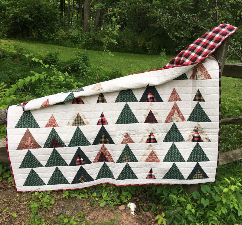 Triangle Tree Quilt