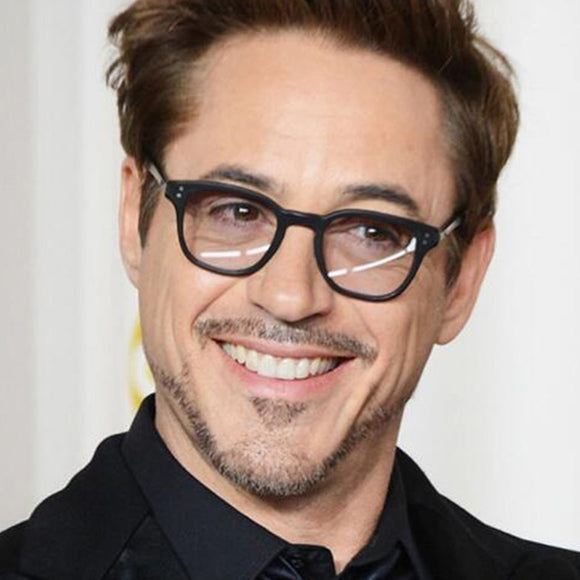 New Fashion Tony Stark Sunglasses Robert Downey Iron Man Glasses Men Women Eyewear - JACKMARC