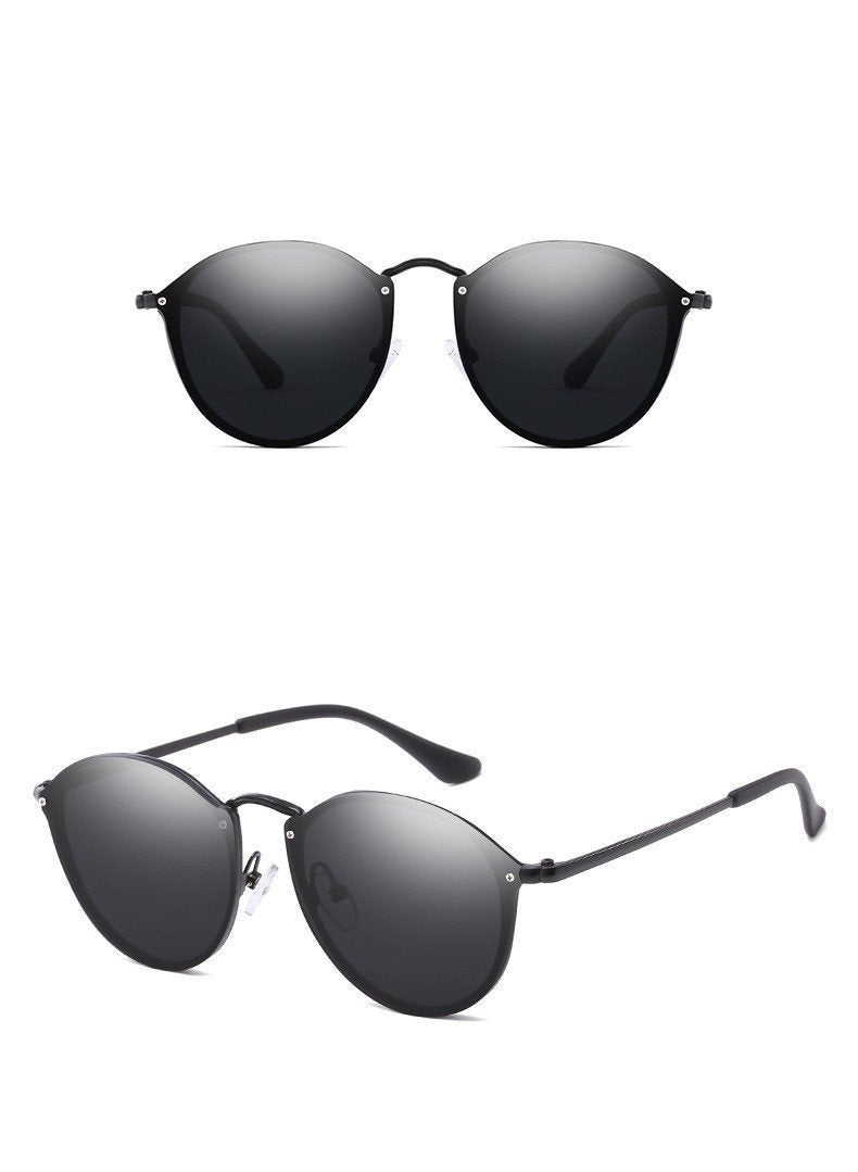 New Oval Blaze Sunglasses For Men And Women-JackMarc