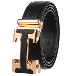 Luxury Design Genuine Leather Belt For Men-JACK MARC