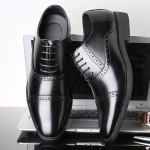 Oxford Leather Shoes For Men Casual Formal And Party Wear- JACKMARC
