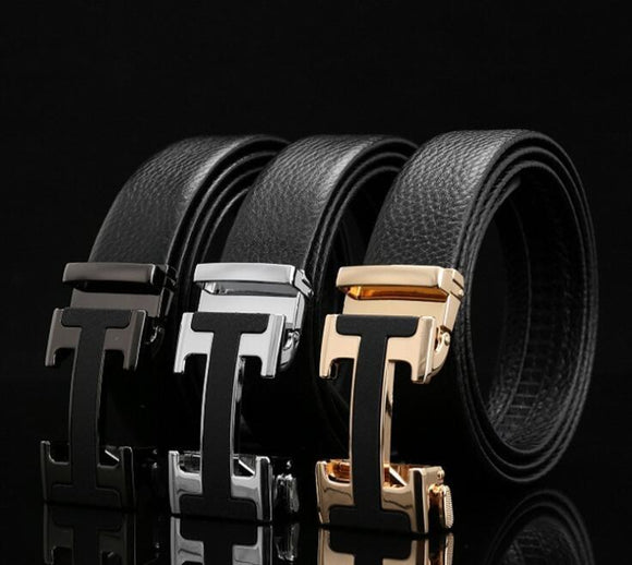 Luxury Design Genuine Leather Belt For Men-JACKMARC