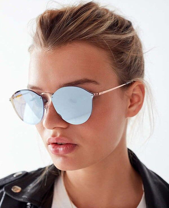 New Blaze Style Rimless Sunglasses For Men And Women -JackMarc