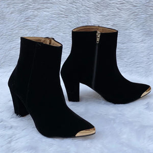 Buy Now Fashion High Heels Chelsea Suede Boots Casual Wear Party Wear For Women- JackMarc