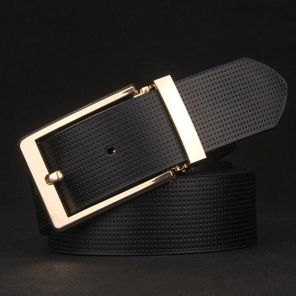 Trendy Square Luxury Design Belt For Men-JACK MARC