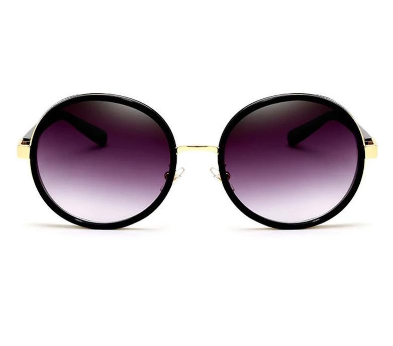 New Steampunk Luxury Round Sunglasses For Women -JackMarc