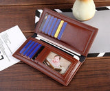 Luxury New Men Women Bifold Long Wallets-Jackmarc