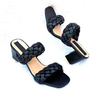 Buy Now Fashion Woven Heels Sandal Casual Wear Party Wear For Women- JackMarc